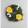 Věneček s chryzantémami