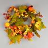 Věnec  podzimní zdobený s jablíčky