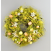 Velikononční věneček  s vajíčky a motýlky