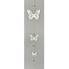 Dřevěná závěsná dekorace motýl